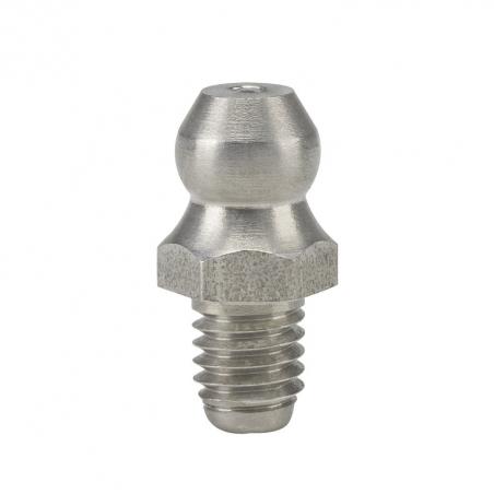 15906 Прессол Пресс-масленка коническая, прямая, нерж. М5х0,8