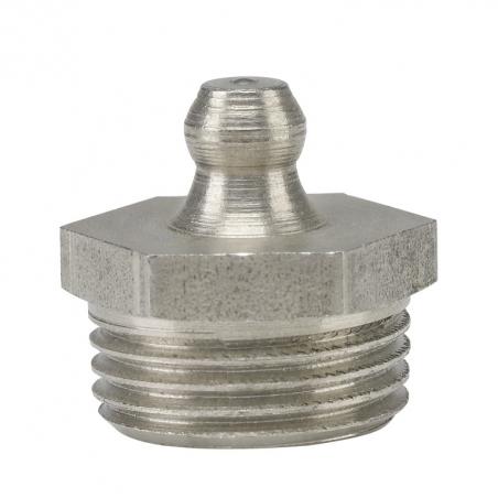 15939 Прессол Пресс-масленка коническая, прямая, нержавеющая G 3/8''