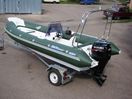 Лодка СкайБот SB 520R