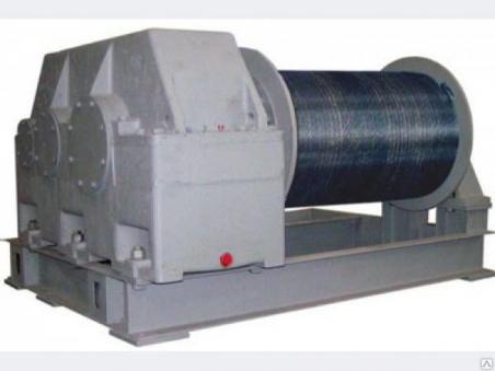 Лебедка тяговая промышленная электрическая ТЭЛ-15 (т/с 15000 кг)
