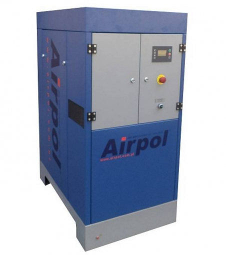 Винтовой масляный воздушный компрессор с частотным преобразователем Airpol PR 11