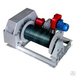 Лебедка тяговая промышленная электрическая ТЭЛ-2