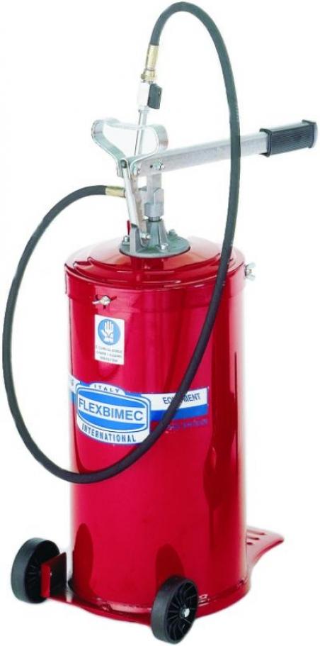 5105 Flexbimec Передвижной солидолонагнетатель емкостью 16 кг (250 бар)
