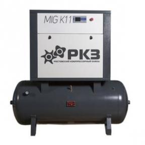 Винтовой масляный воздушный компрессор MIG K11