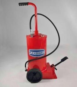 Flexbimec 5190 Передвижной нагнетатель смазки с ножным приводом и емкостью 16кг