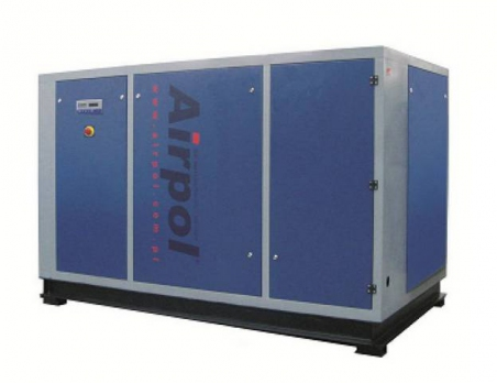 Винтовой масляный воздушный компрессор с частотным преобразователем Airpol NB PR 75
