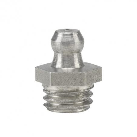 15915 Прессол Пресс-масленка коническая, прямая, нержавеющая М10х1,5