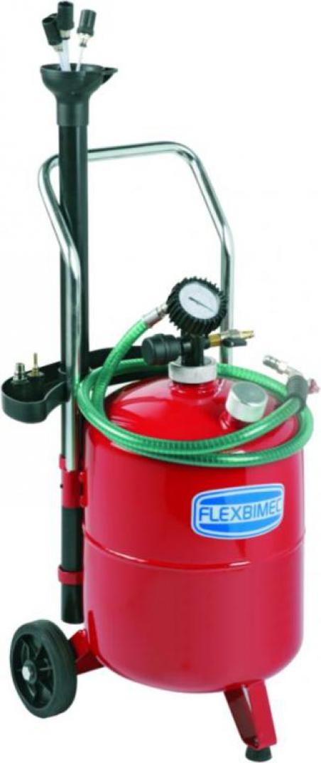 3024 Flexbimec Передвижной прибор для вакуумного сбора масла 24л