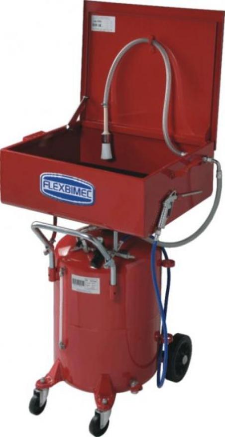 5903 Flexbimec Моечная ванна с замкнутым циклом на передвижном резервуаре
