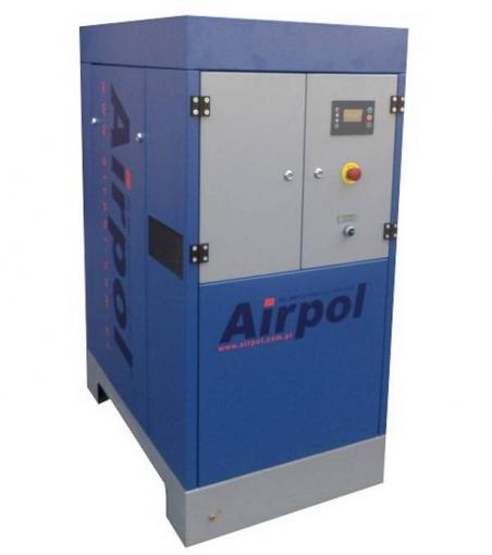 Винтовой масляный воздушный компрессор с частотным преобразователем Airpol PR 15