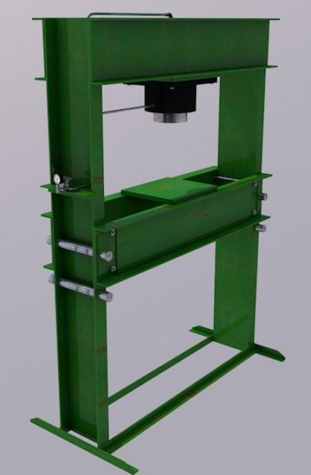 Пресс гаражный напольный Р-342М1 (60т)