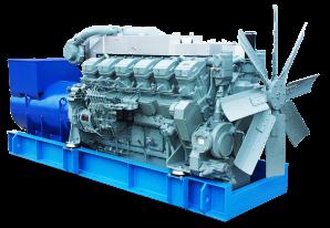 Дизельный высоковольтный генератор ADMi-630 10.5 kV