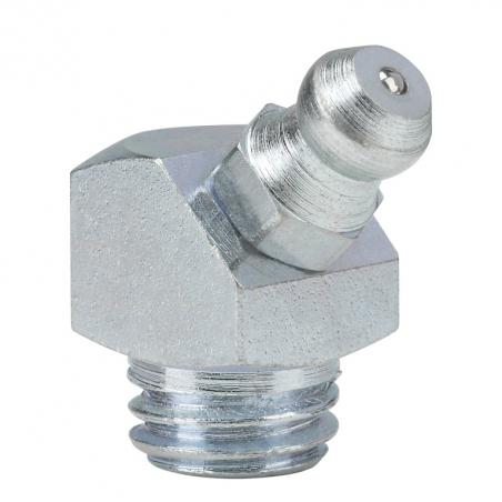 15115 Прессол Пресс-масленка коническая, оцинкованная 45° М10х1,5