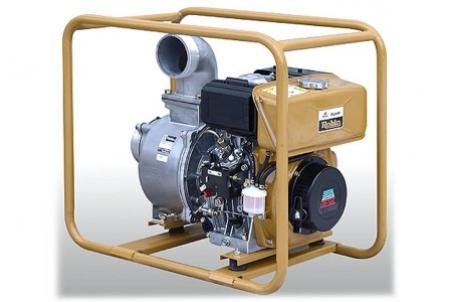 Дизельная мотопомпа для загрязненных вод PTD 406