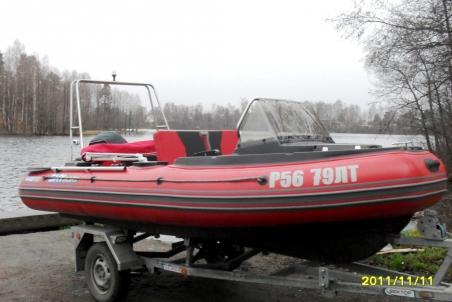 Лодка СкайБот SB 440RK