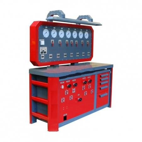 Стенд для проверки пневмооборудования К-245М