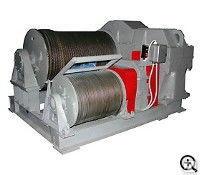 Маневровая электрическая двухбарабанная лебедка ЛЭМ-20