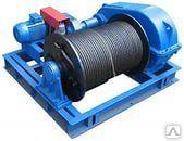 Лебедка тяговая промышленная электрическая ТЛ-15А (т/с 15000 кг)
