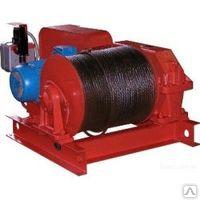 Лебедка тяговая промышленная электрическая ТЭЛ-10Б (т/с 10000 кг)