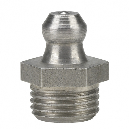 15926 Прессол Пресс-масленка коническая, прямая, нерж. 1/8'' NPT