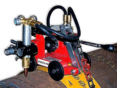 Переносная машина для резки стальных труб Орбита-РМ