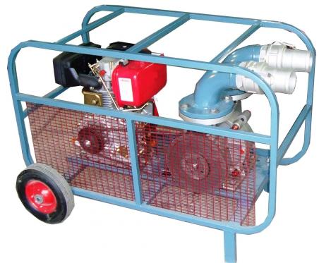 Мотопомпа для перекачивания дизельного топлива Танкер 049