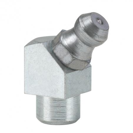 15104 Прессол Пресс-масленка коническая, оцинкованная, заколачиваемая 45° Ø 8 mm