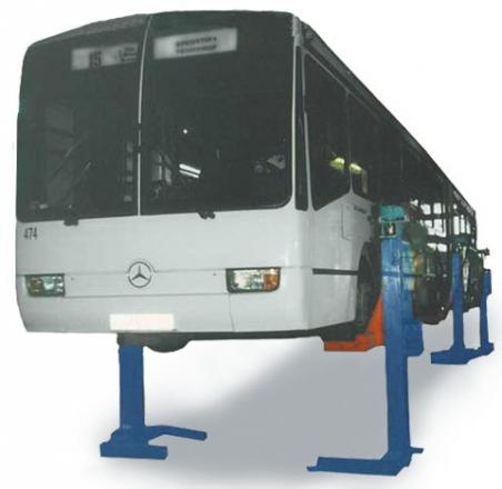 Грузовой автобусный подъемник ПП-15