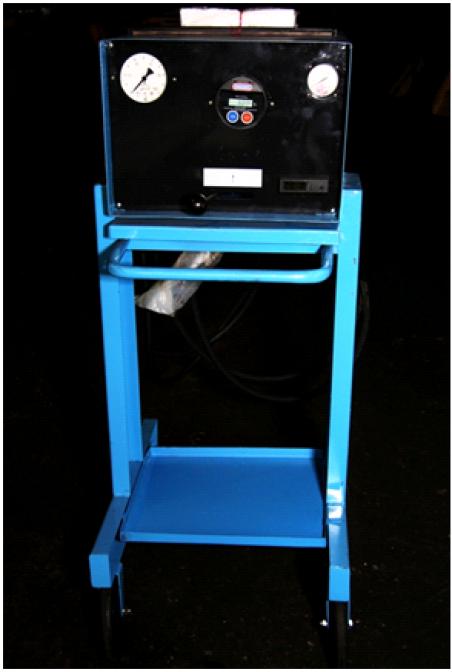 Установка для проверки рулевых управлений с гидроусилителем К-465М
