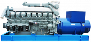 Дизельный высоковольтный генератор ADMi-1380 6.3 kV