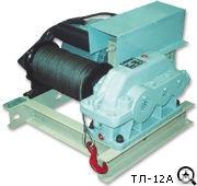 Лебедка промышленная электрическая ТЛ-12А (т/с 250 кг, 220В)