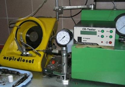 CRtest Комплект оборудования для диагностики форсунок Common Rail