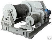 Маневровая электрическая двухбарабанная лебедка ЛЭМ-10