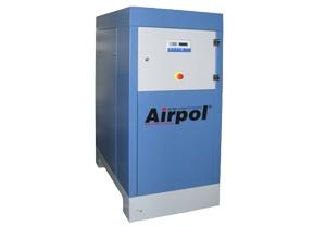 Винтовой масляный воздушный компрессор со встроенным осушителем и фильтром Airpol 18 T