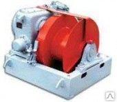 Маневровая электрическая лебедка ЛМ-71, без механизма отключения