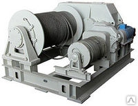 Маневровая электрическая двухбарабанная лебедка ЛЭМ-8