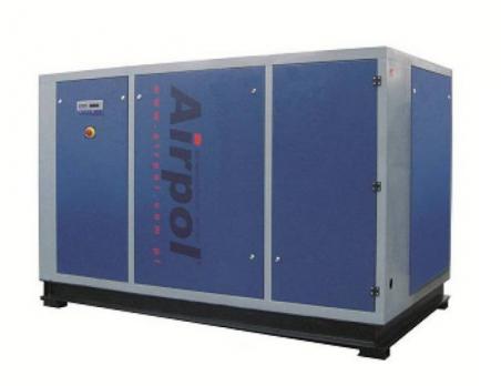 Винтовой масляный воздушный компрессор с частотным преобразователем Airpol NB PR 110