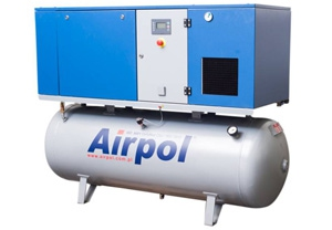 Винтовой масляный воздушный компрессор Airpol К 15Т
