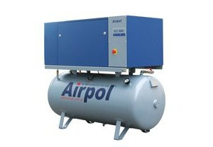 Винтовой масляный воздушный компрессор Airpol К 15