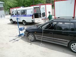 Линия технического контроля ЛТК-П на базе а/м ГАЗ 2705 с ручным вводом