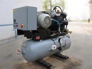 Поршневой дожимающий масляный воздушный компрессор (бустер) Airpol ADP 300-150